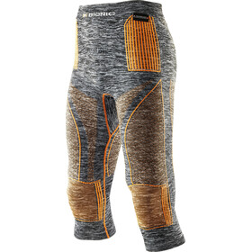 X-Bionic Accumulator EVO Melange UW Medium Pants Men Grey Melange/Orange